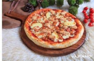 pizza pan bbq chicken